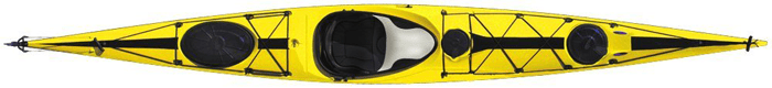 Tahe Marine Wind Composite Sit-In-Sea Touring Kayak