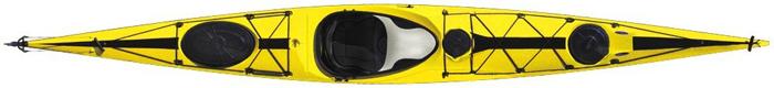 Tahe Marine Wind Composite Sit-In-Sea Touring Kayak