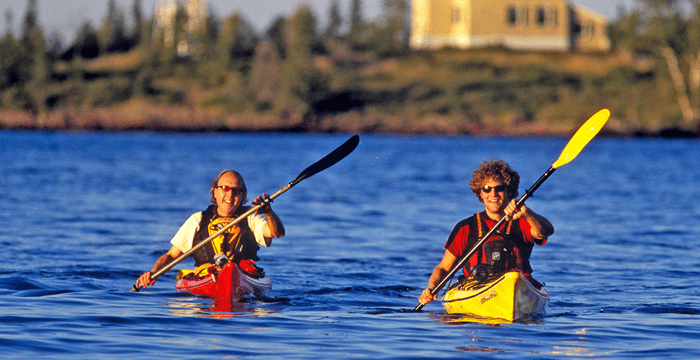 Get healthy and fit in a kayak