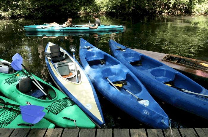 Get into kayaking