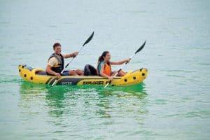 Intex Explorer K2 on water