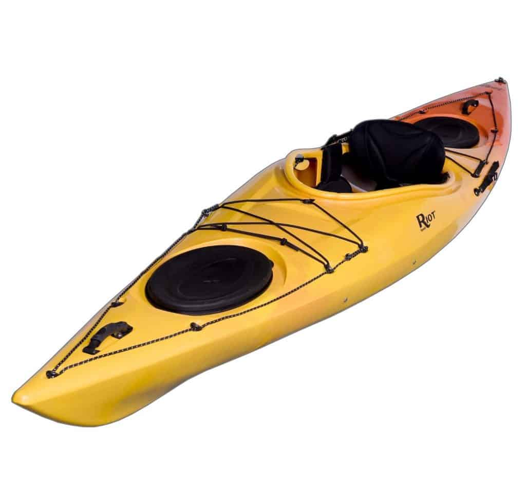 Riot Kayaks Edge 13 LV Flatwater Day Touring Kayak