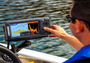 Fish finder side imaging