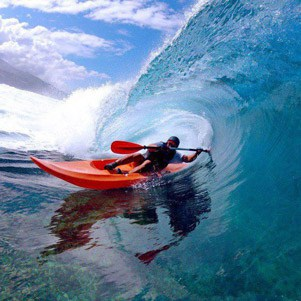 What is a surf kayak