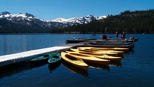 Caples Lake, California