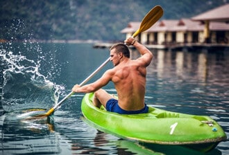 Gaining Stamina in kayaking and canoeing