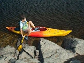 How to get in a kayak