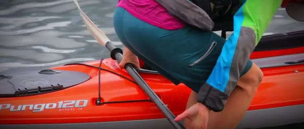 How to get out of a kayak
