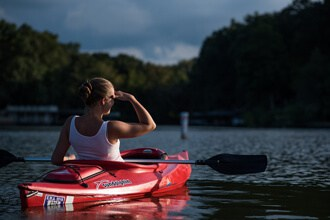Reduce Stress in kayaking and canoeing