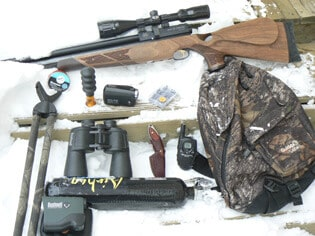 Rifle hunting equipment list