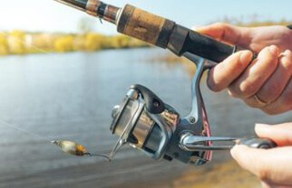 cast spinning reel