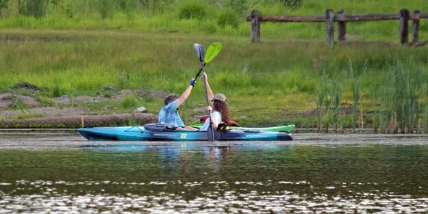 places for kayaking basics