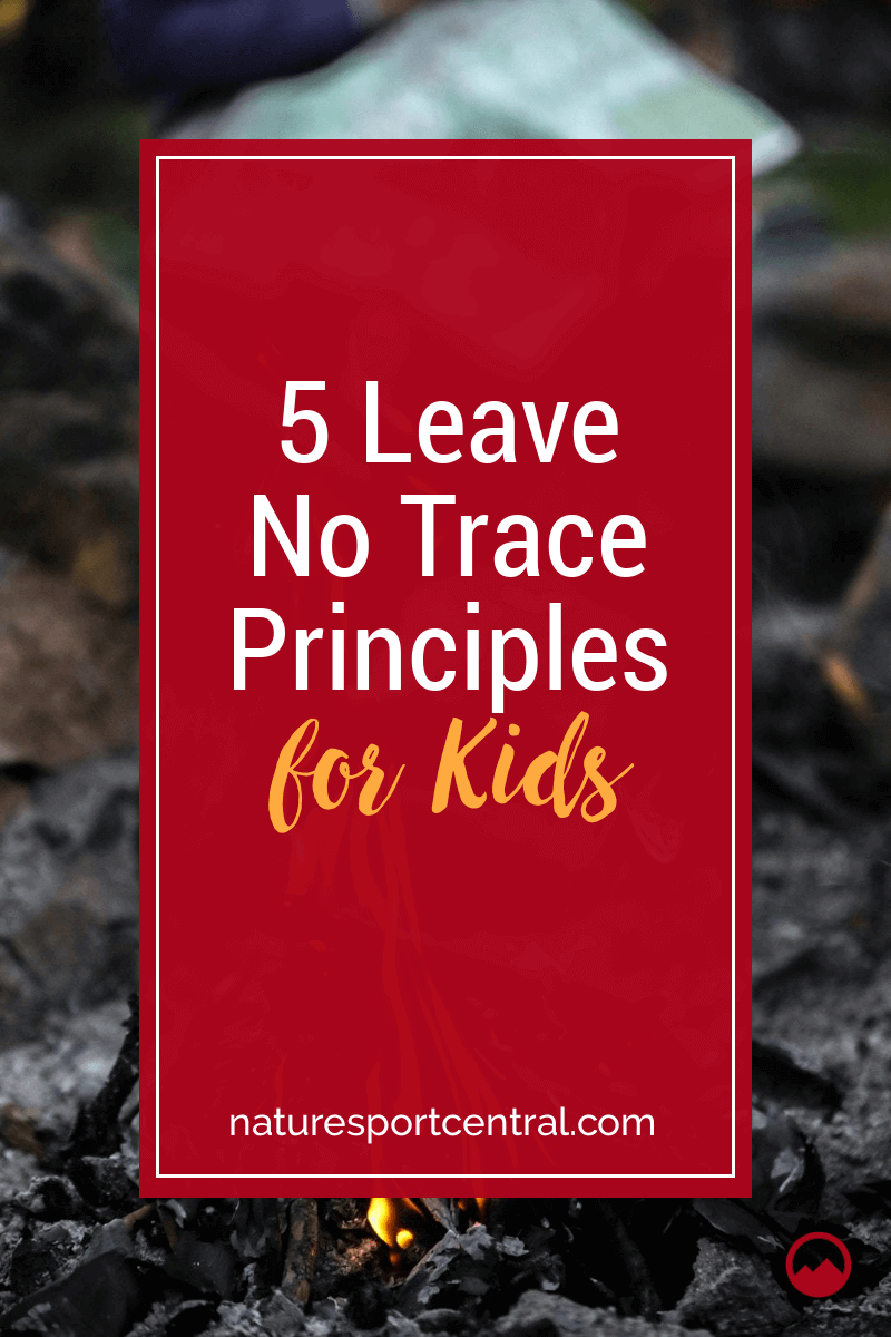 5 Leave No Trace Principles for Kids