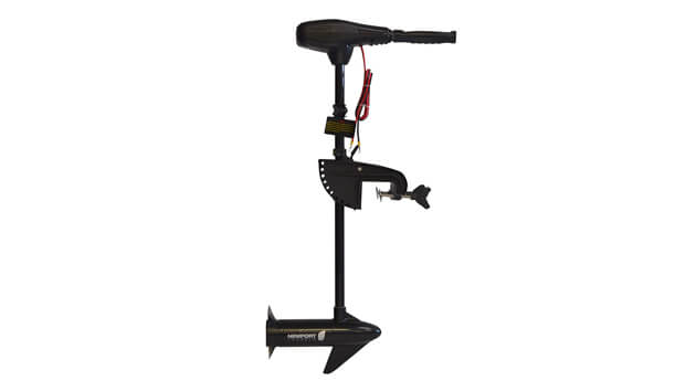 Newport Vessels NV-Series 36 lb. Thrust Saltwater Transom Mounted Electric Trolling Motor with 30 Shaft