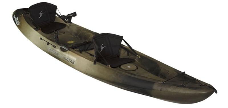Ocean Kayak Comfort Plus Seat Back (Black) 2 seats