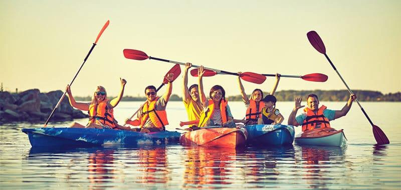 kayak as exercise