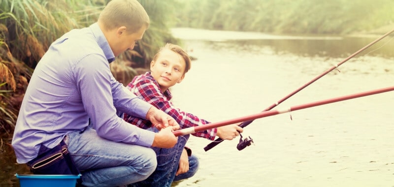 right fishing gear for akids