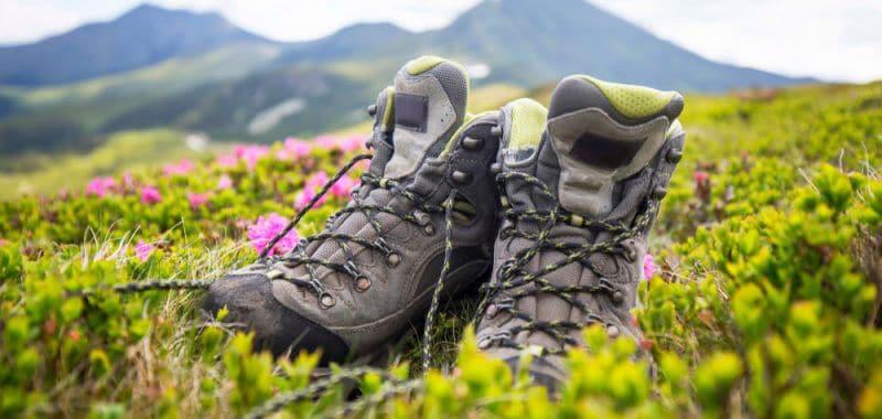 Hiking footwears