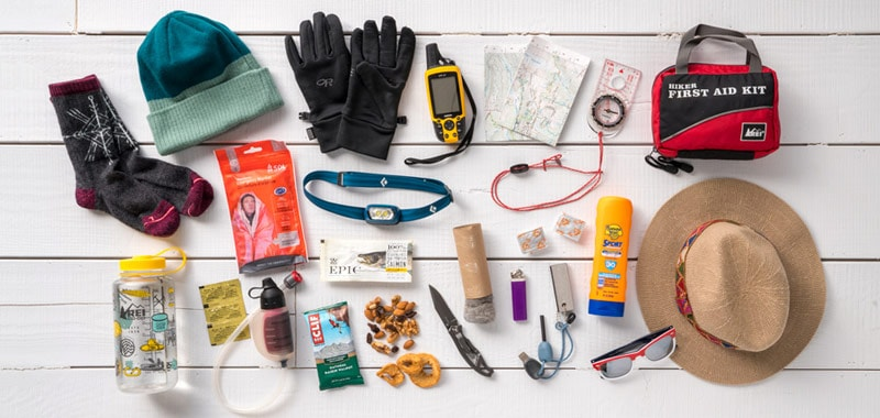 essential elements for hiking