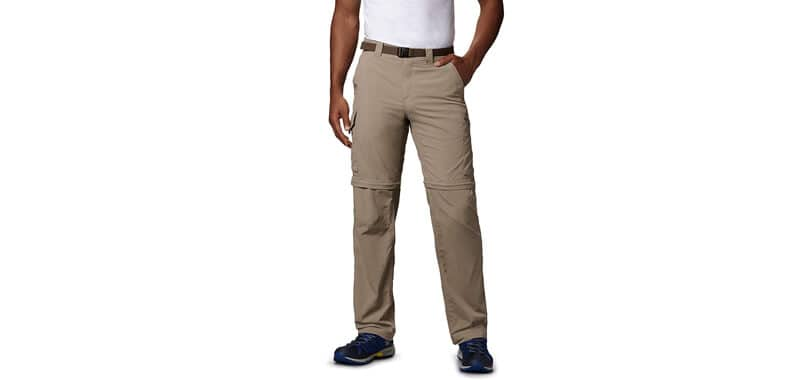 Columbia Men's Silver Ridge Convertible Pant, Breathable