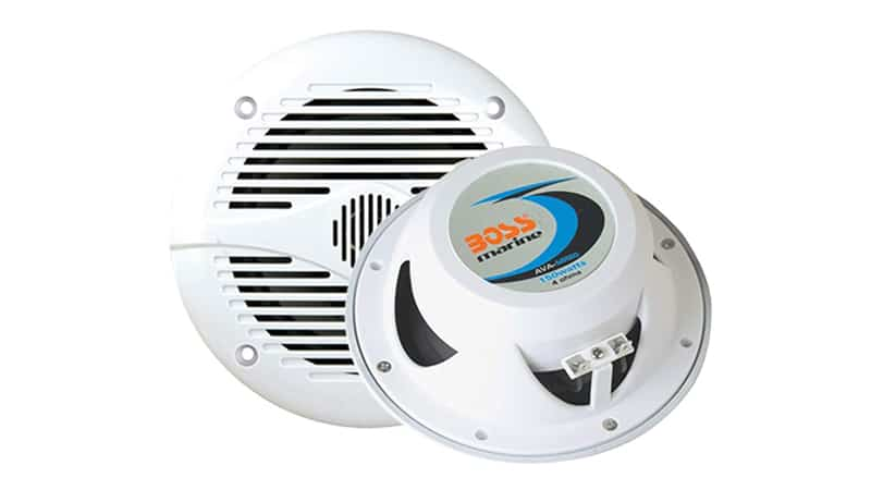 Marine Speakers BOSS Audio MR50W 150 Watt (Per Pair), 5.25 Inch Full Range, 2 Way, Weatherproof