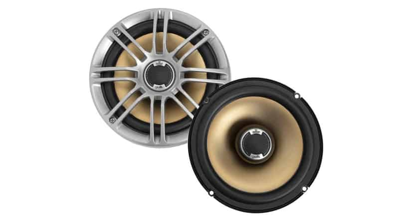 Polk Audio DB651 6.5″ 6.75″ 2-Way Marine Certified db Series Car Speakers with Liquid Cooled Silk Tweeters