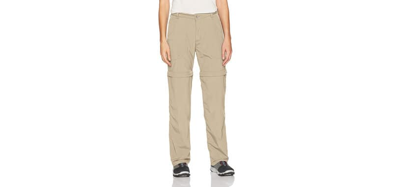 White Sierra Women's Sierra Point 31-Inch Inseam Convertible Pant