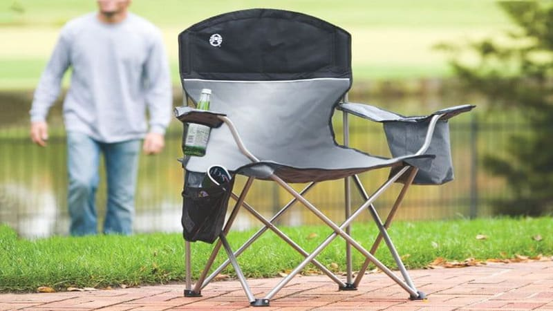 Coleman Portable Camping Quad Chair for best lightweight camping chair