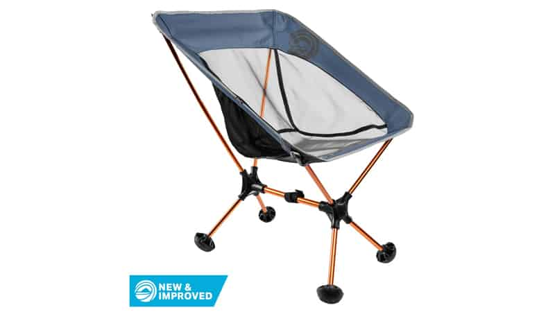 Terralite Portable Camp Chair. Perfect For Camping, Beach, Backpacking & Outdoor Festivals. Compact & Heavy Duty