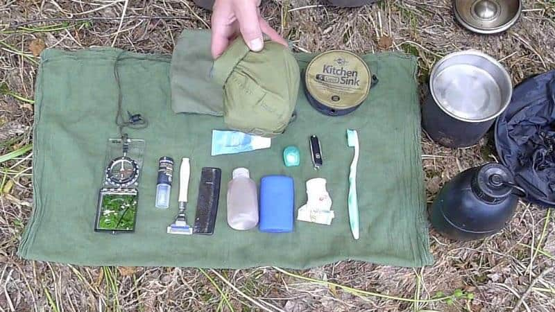 Health and Hygiene kits for hiking