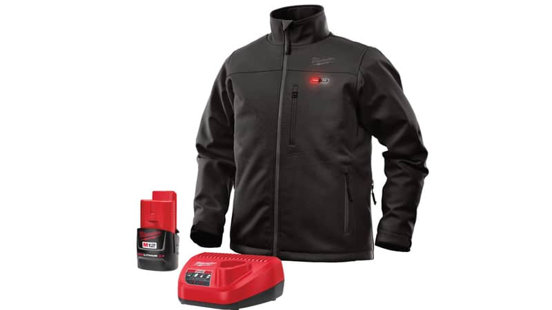 Milwaukee Heated Jacket KIT M12 12V Lithium-Ion Front and Back Heat Zones – Battery and Charger Included
