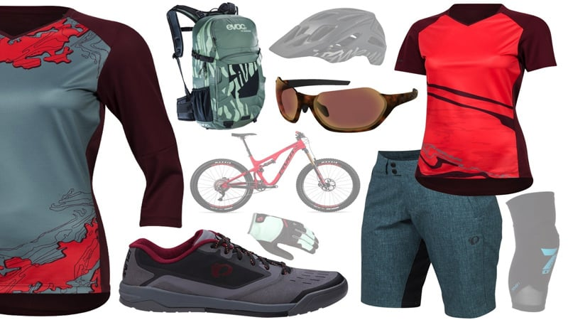 different clothing for mountain biking