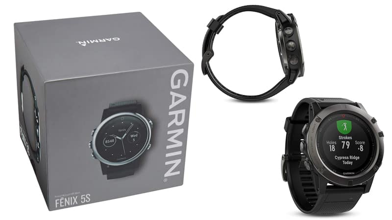 Garmin Fenix 5X Sapphire as Best Hiking Watch