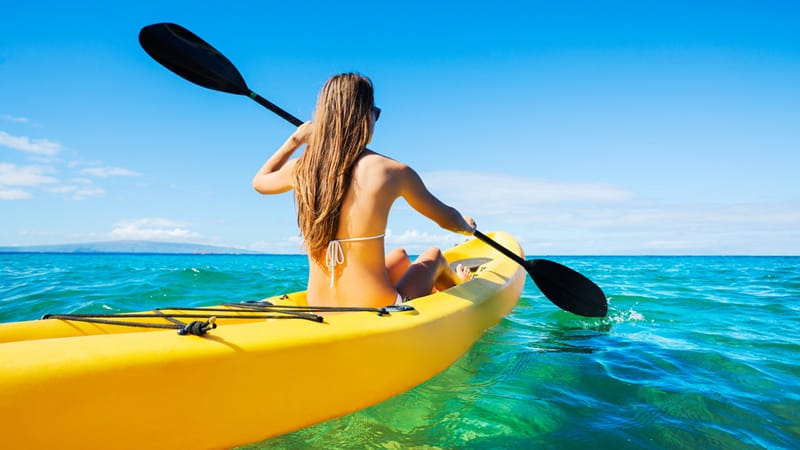 kayaking as a good exercise