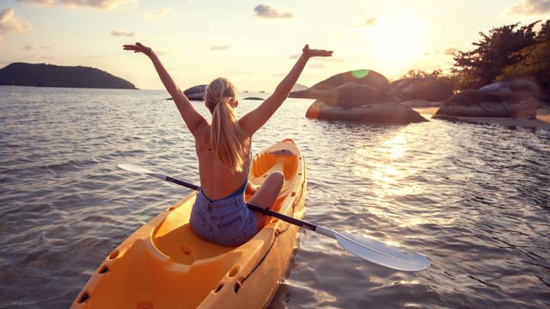 mental health benefits of Kayaking
