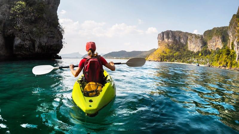 Burning Calories by Kayaking
