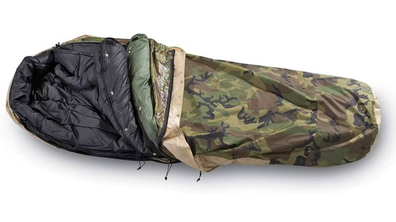 Best Bivy Sack Tennier Woodland Camouflage Waterproof Bivy Cover