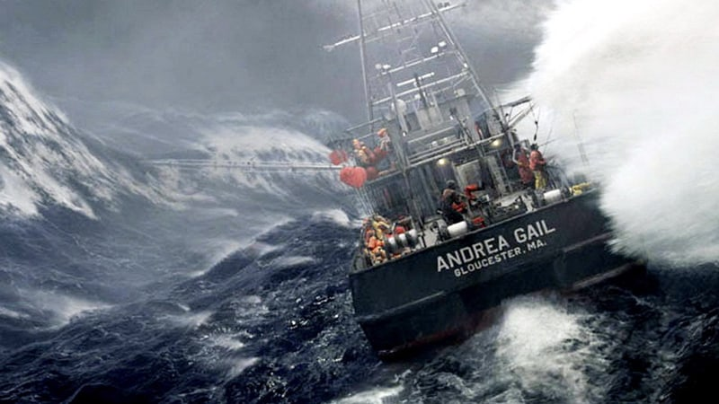 The Perfect Storm as One of the best fishing movies