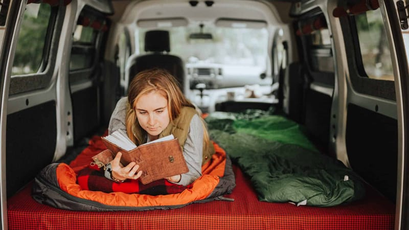 camping in your vehicle