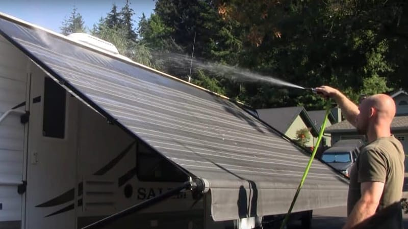 Guuide on Cleaning RV Awning