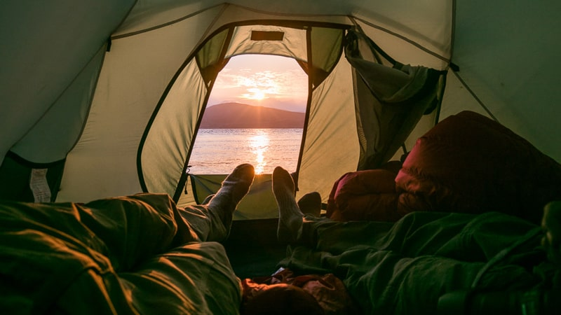 Tips and Tricks on how to keep Warm in a Tent