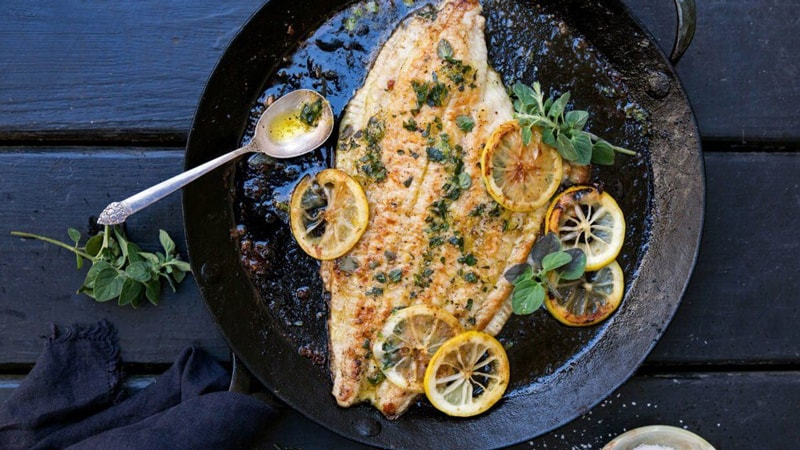 Cooking Flounder the easiest way