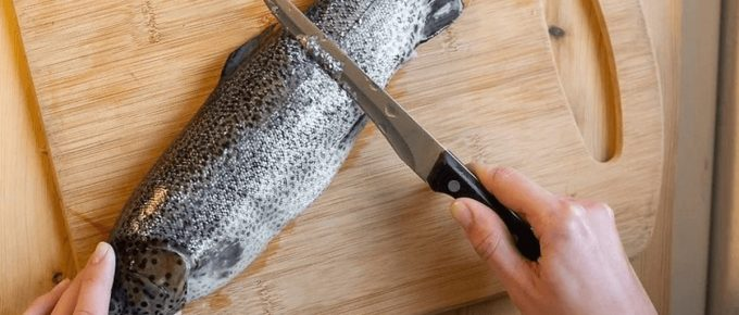 How to Clean Rainbow Trout