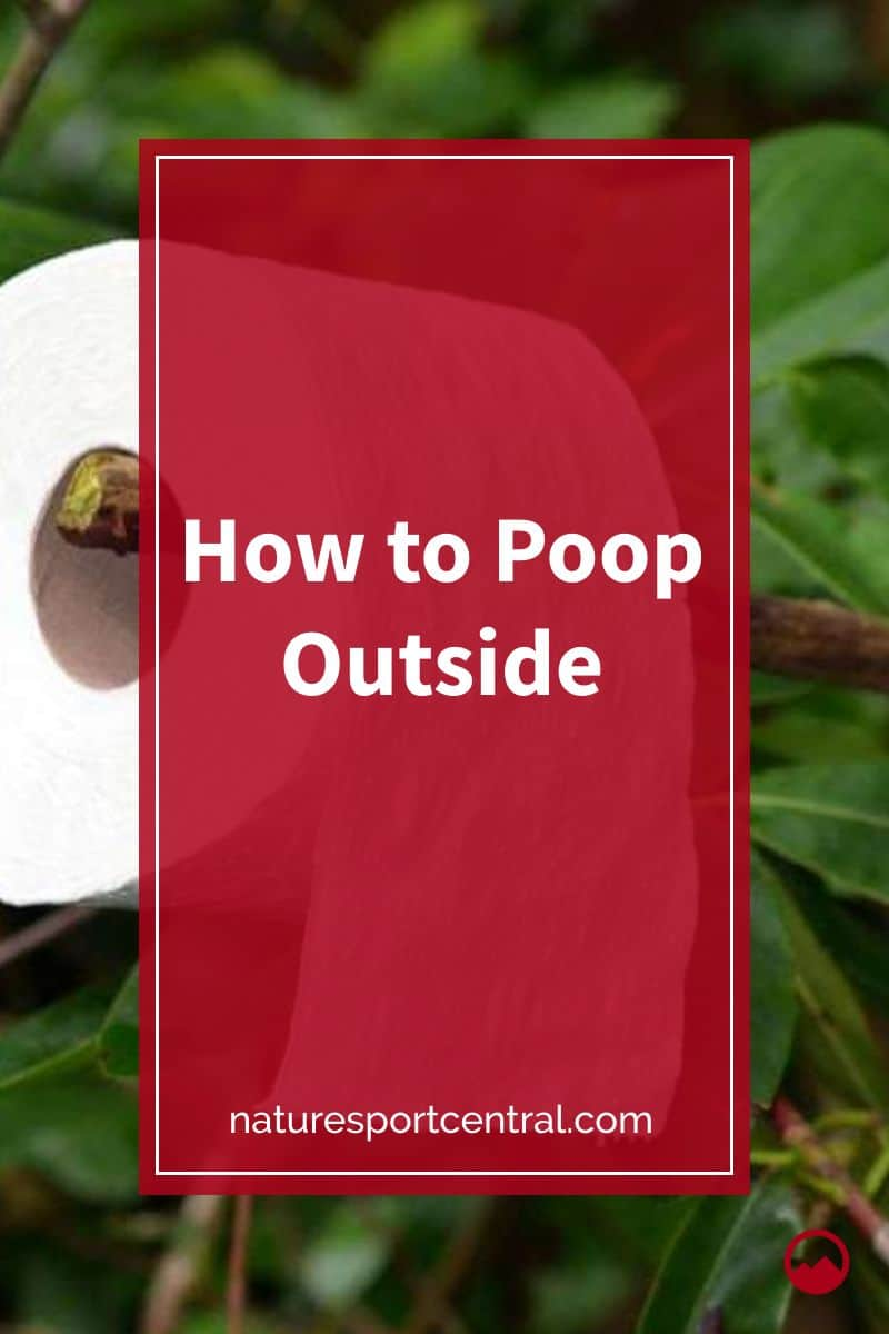 How to Poop Outside