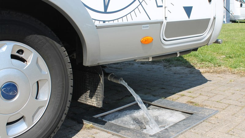 Sanitize RV Water System