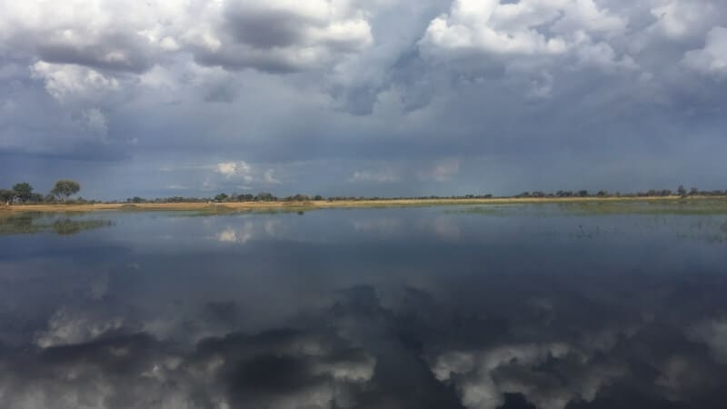 Cloud Reflection in Water