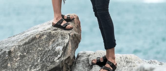 How to Break in Birkenstocks With Water