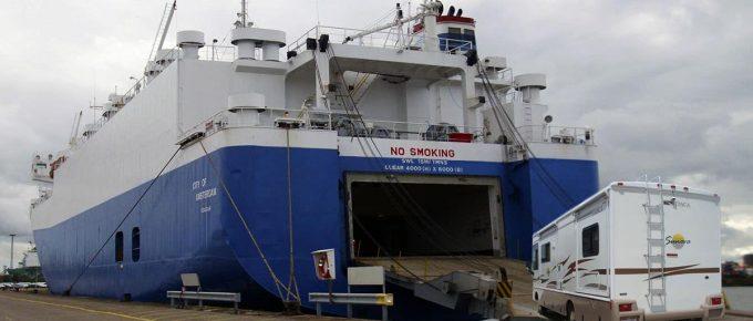 Shipping RV Overseas