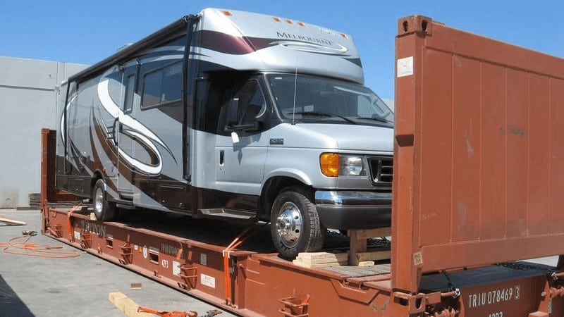 RV Shipping To Overseas