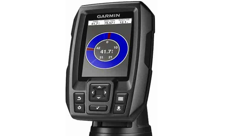 """Garmin 010-01550-00 Striker 4 with Transducer, 3.5"""" GPS Fishfinder with Chirp Traditional Transducer"""